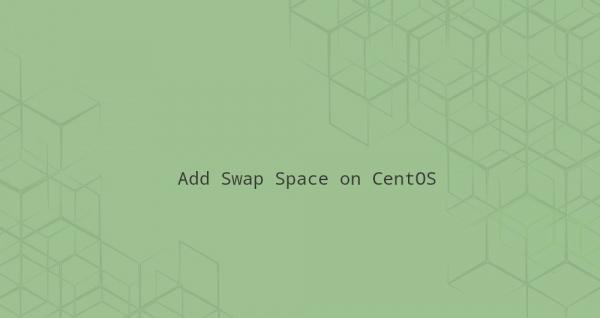 Как добавить пространство подкачки Swap в CentOS 8